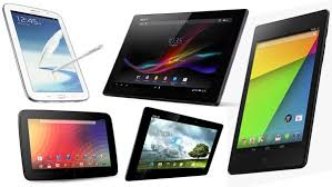 android tablets the best android tablets 2014 comparison chart android vip club