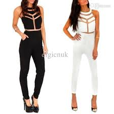 cheap rompers and jumpsuits bodycon jumpsuit romper sleeveless evening