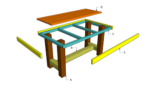 Free Wood Furniture Plans Download by Wood Table Plan The Ryobi Band Saw Follows A Line Of Good