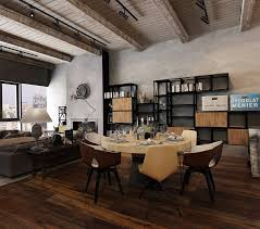 Modern Rustic Dining Room Table Dining Room Furniture Rustic Modern Dining Room Design With