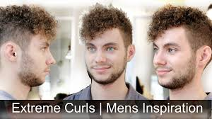 Type Of Hairstyles For Guys by Extremely Curly Hair Men U0027s Haircut Inspiration Tutorial By