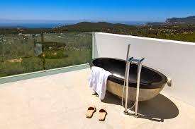 outdoor bathtub villa delphine ibiza u2022 villa guru
