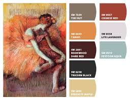 paint colors from chip it by sherwin williams edgar degas dancer