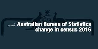 bureau of change australian bureau of statistics change in census 2016