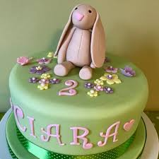 a bunny birthday cake for littlest squirrel u0027s 2nd birthday