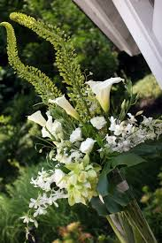 white floral arrangements events cf6910 green and white floral arrangement
