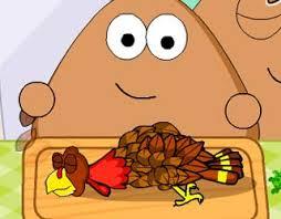 play free pou thanksgiving day slacking
