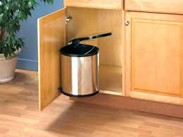 kitchen trash can ideas small kitchen trash cans wiredmonk me