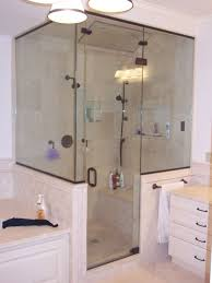 Custom Glass Doors For Showers by Mirrors Custom Glass Shower Door King Shower Door Installations
