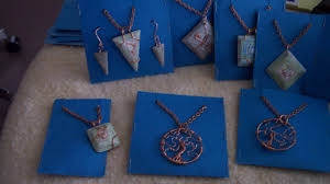 colored necklace display images How to make simple jewelry display cards diy style tutorial jpg
