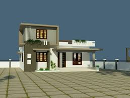 Economical House Plans Simple And Economical House Of Three Bedrooms And 67 Square Meters