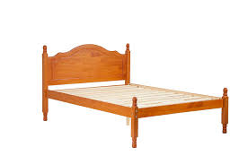 Solid Wood Platform Bed Frame Amazon Com 100 Solid Wood Reston Full Panel Headboard Platform