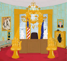 welcome to shamelot donald trump u0027s oval office wallpaper