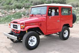 original land cruiser 1983 red fj40 toyota land cruiser for sale at tlc youtube