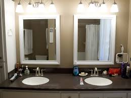 stick on frames for bathroom mirrors incredible bathroom mirrors framed bathroom design ideas
