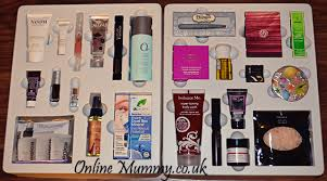 makeup advent calendar what i got in my you beauty discovery advent calendar 2013