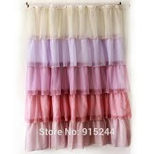 Fashion Shower Curtains Aliexpress Com Buy Multi White Pink Fashion Polyster Waterproof