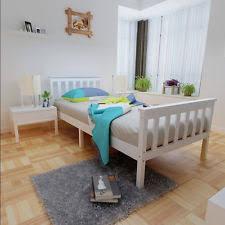 wooden single bed ebay