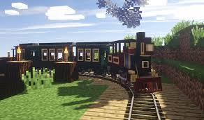 Minecraft Decoration Mod About Traincraft