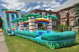 water slide rentals in dallas jump city