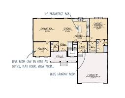hillside floor plans hillside a house plan schumacher homes