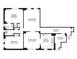 50 Plaza Street Apartment 4b Homedax Real Estate Nyc 16 X 50 Floor Plans