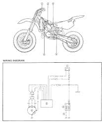 yz80 wiring diagrams and electrical components trouble shoot