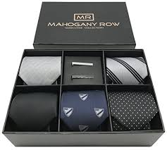 gift box for tie 5 luxury mens dress ties 2 modern tie bars designer gift box the