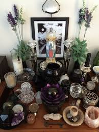 pagan altar pinned by the mystic u0027s emporium on etsy bewitched