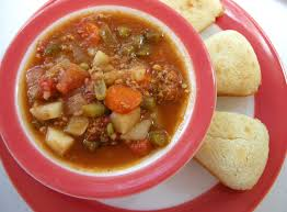 ground beef stew with a secret southern plate
