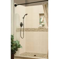 shop american bath factory mesa molded stone shower wall surround