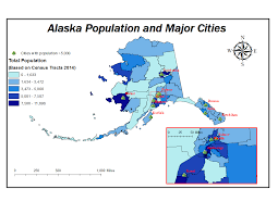 Map Of Alaska And Russia by Native Communities In Alaska Vulnerabilities In Light Of Climate