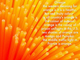 shades of orange colours by angelina bowden