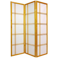 privacy screen room divider oriental furniture double cross 60 inch shoji screen room divider