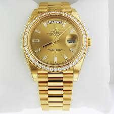 rolex day date 40 president yellow 228348