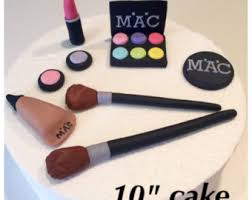 makeup cake toppers makeup cake topper etsy