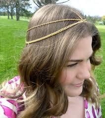 chain headpiece diy house of harlow headpieces