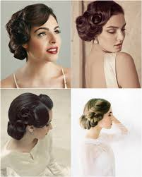 vintage hairstyles for weddings vintage wedding updo hairstyles wedding ideas