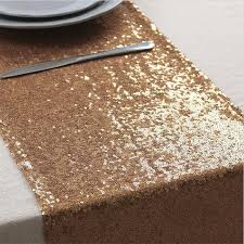 New Arrival Rose Gold Sequin Table Runners 10 6 X108 Wedding Banquet