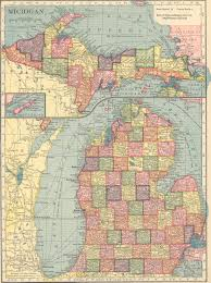 Show Me A Map Of Michigan by The Usgenweb Archives Digital Map Library Hammonds 1910 Atlas