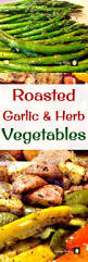 Roasted Vegetables Recipe by Roasted Garlic And Herb Vegetables Lovefoodies