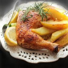 cuisiner poulet entier recette poulet entier au citron