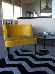 room and board side table our new chloe chair in vance gold and saarinen side table from room