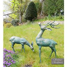aluminium garden statues ornaments ebay