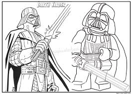 Darth Vader Star Wars Coloring Page Darth Vader Coloring Pages