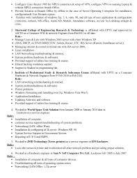 Printer Resume Mukesh Up Dated Resume