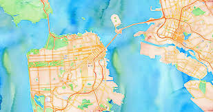 San Francisco Crime Heat Map by Open Source U003e Stamen Design