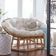 papasan double natural chair frame papasan chair rattan and bowls
