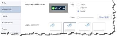 reset quickbooks online customizing quickbooks online forms holliday bookkeeping duvall