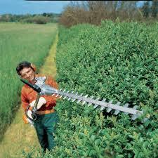 stihl stihl hl 95 petrol long reach hedge trimmer 135 stihl